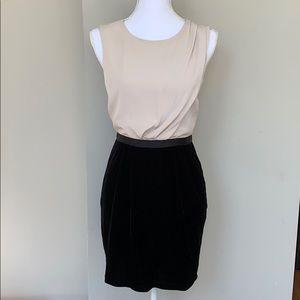 TOPSHOP Two-Tone Dress